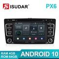 Isudar 2 Din Авто Радио Android 9 для SKODA Yeti/Octavia 2009 2010 2012 4 ядра Оперативная память 2G Автомобильный мультимедийный DVD видео плеер gps DVR