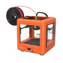 3D DIY Kit Printer One Key Printing Machine Portable 3D Printer Mini for Child Christmas Gift Creality 3D Printer Plastic Wire все цены