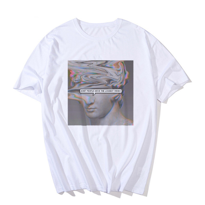 Ha67ecab3bf77412d83336e089f86eacc0 - Harajuku Men's tshirt Funny Michelangelo Statue David Vaporwave Print Short Sleeve t shirt HipHop streetwear T-shirt men Top Tee