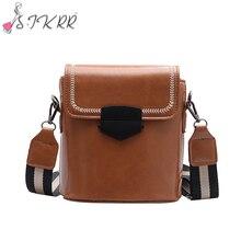 S.IKRR Messenger Bag Women Bucket Shoulder Bag Large Capacity Vintage Matte PU Leather Lady Handbag Luxury Designer bolsos mujer