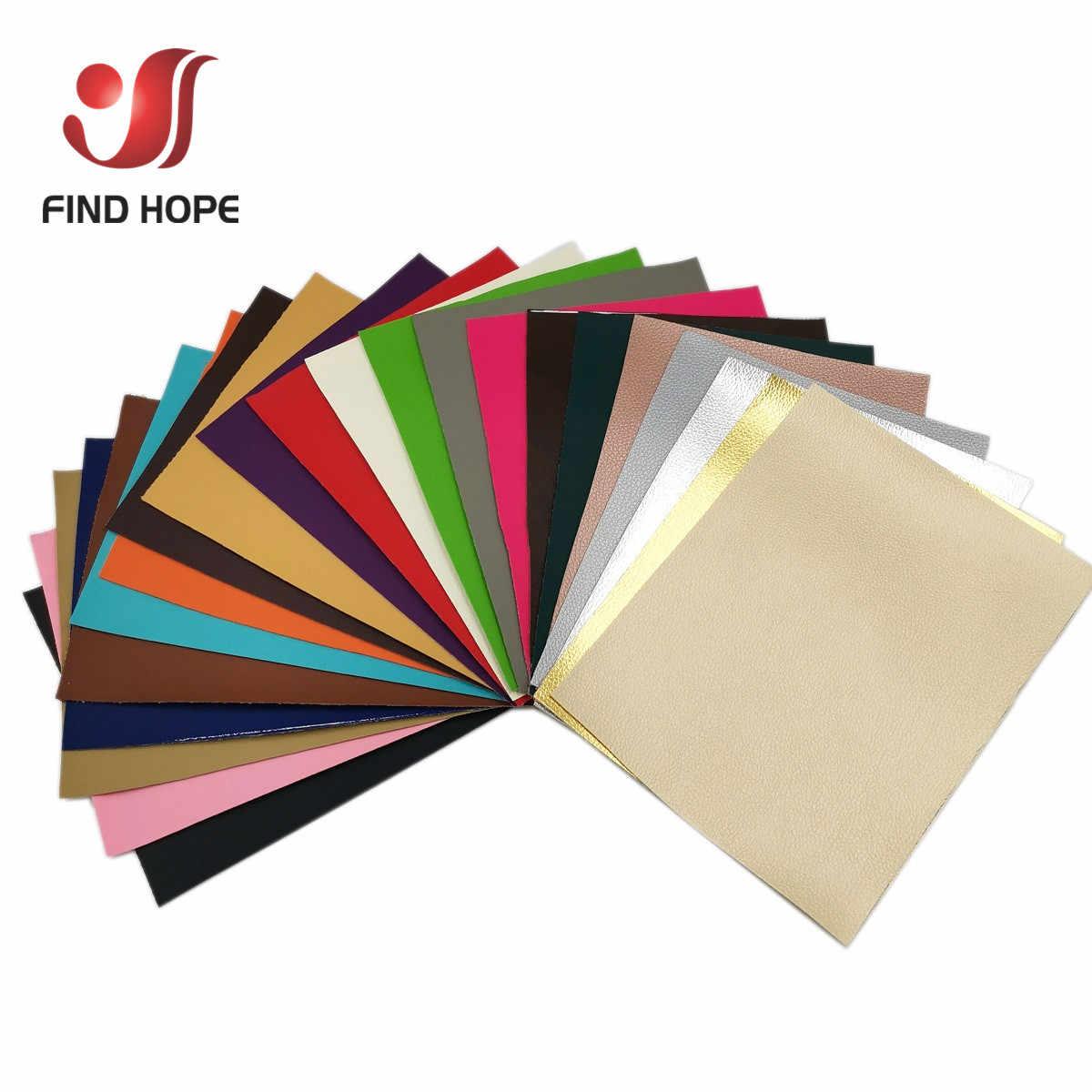 A4 A5 20*120CM Litchi PU Leder Vinyl Stoff Faux Leder Für Ohrring Nähen Tasche Kleidung Sofa Auto DIY Bogen Material Blatt Rolle