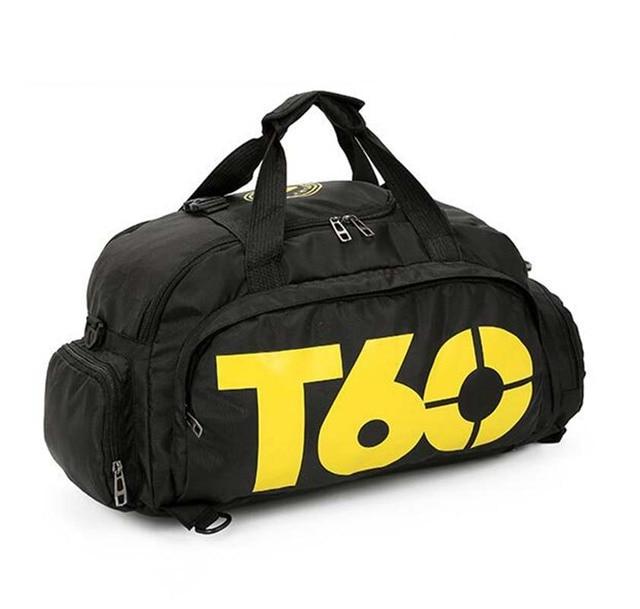 New Sport Gym Bag Men Women Outdoor Waterproof Backpack Separate Space For Shoes Handle Bag 3