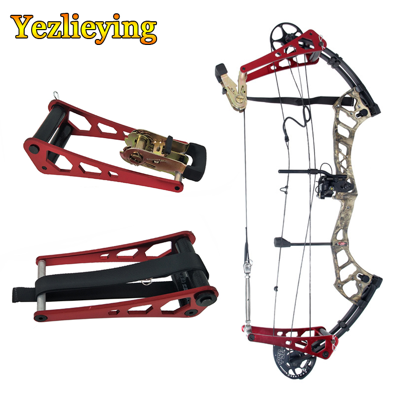 Portable Bow Press and L Brackets for compound bows