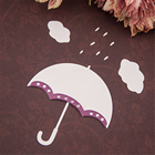 Rain Umbrella Metal ...