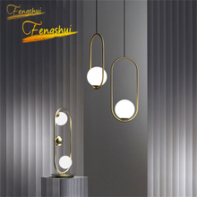 Nordic Glass LED Pendant Lights Nordic Gold Black Silver Industrial Pendant Lamp Lustre Art Kitchen Interior Decoration Lighting nordic gold silver glass ball loft led pendant lights restaurant bar industrial lighting pendant lamp kitchen fixtures luminaria