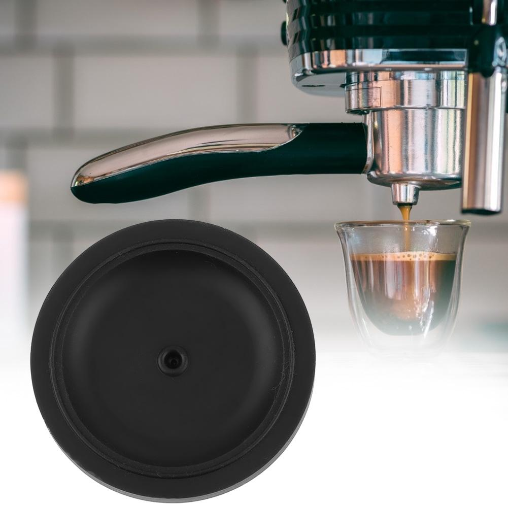 Coffee Tamp Mat Round Silicone Coffee Tamper Mat Convenient Coffee Powder Pad For Kitchen Home Coffee Accessories