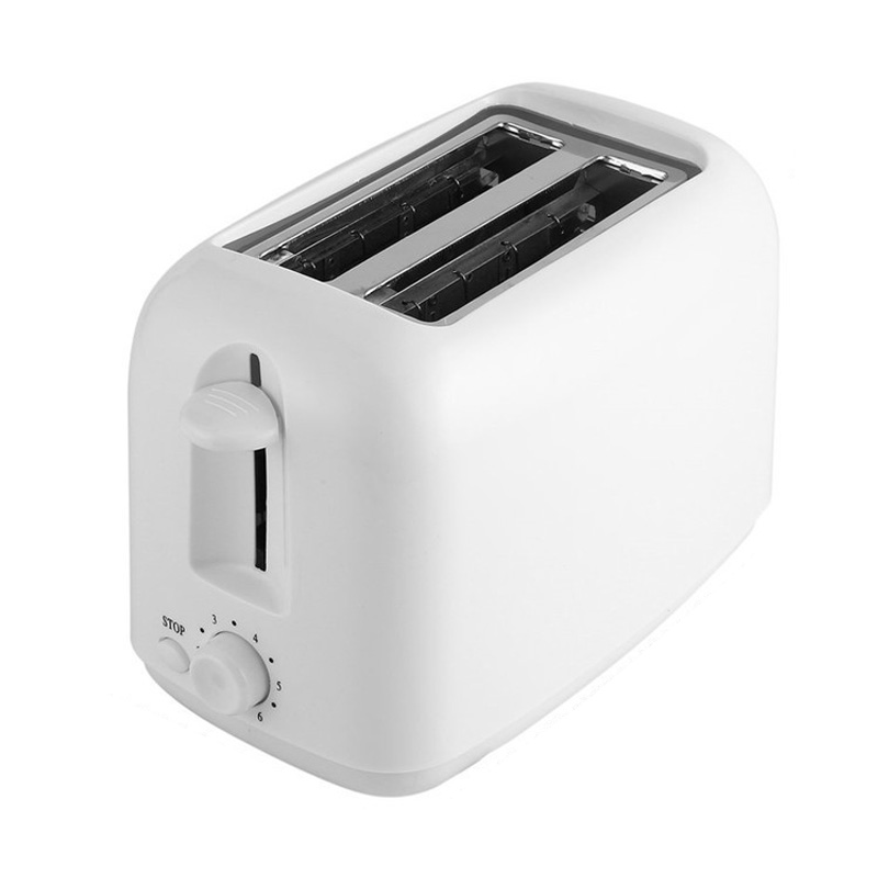 2 Slices Toaster Automatic Fast Heating Bread Toaster Household Breakfast Maker Eu Plug|Bread Makers| |  - title=
