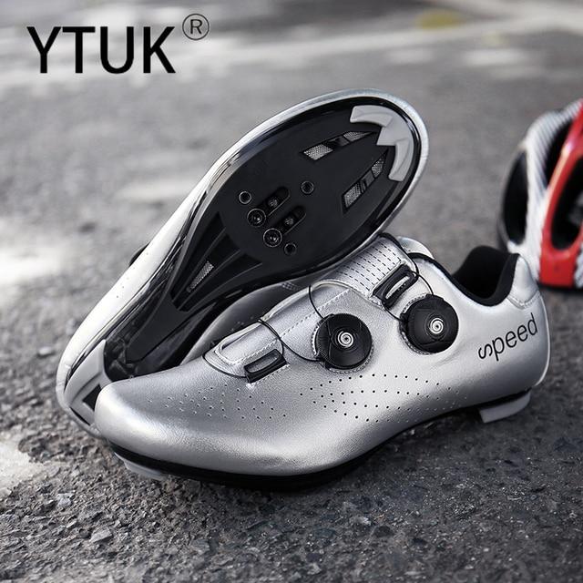 Ytuk profissional atlético sapatos de bicicleta mtb sapatos de ciclismo homem auto-bloqueio sapatos de bicicleta de estrada 6