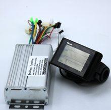 Greentime е-байка 36В 48В 60В 500W 600 Вт бесщеточным двигателем постоянного тока контроллер электровелосипеда + GT984 Дисплей один комплект