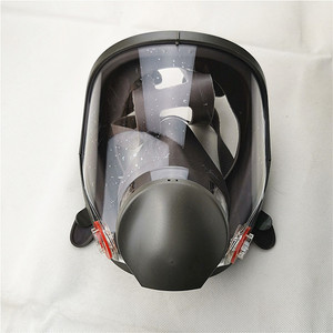 Image 3 - 6800 Gas Mask add SJL 3# Cartridge  7pcs suit Full Face Facepiece Respirator For Painting Spraying same 3M 6800
