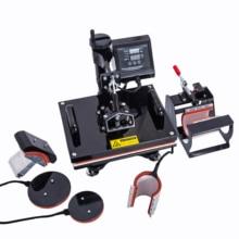 38*38CM 5 in 1 Combo Heat Press Printer Sublimation Machine Heat Press Printer for T-shirts Plates/Cap/Mug/Phone Covers popular