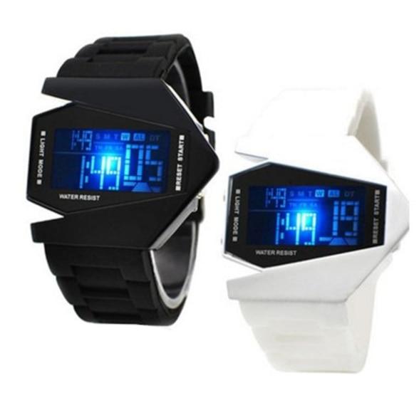 LED Watches Men's Digital Clock Man Army Military Silicone Wrist Watch Men Women Watch Electronic Watch Clock Relogio Digital
