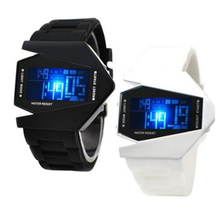 LED Watches Men's Digital Clock Man Army Military Silicone Wrist Watch