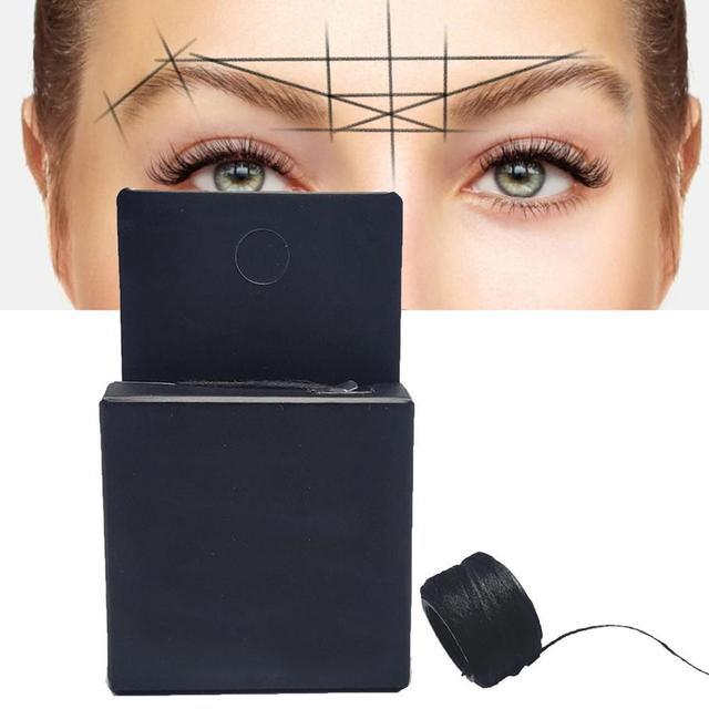 Microblading Mapping String Pre-inked Eyebrow Marker Thread Point Pmu String Tattoo For Mapping Inked 10m Brows Tattoo Pre S5T3