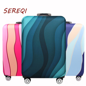 SEREQI Travel Elastic Luggage Protective Cover Cheap Suitcase Cover 18-32 inch new travel accessories Eye-catching luggage cover