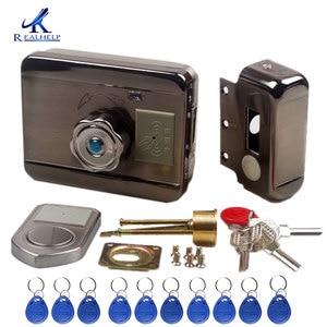 Image 3 - Электронный дверной замок RFID, беспроводной электрический замок для металла, Электрический дверной замок 125 кГц, RFID карта, замок без ключа, дверной замок