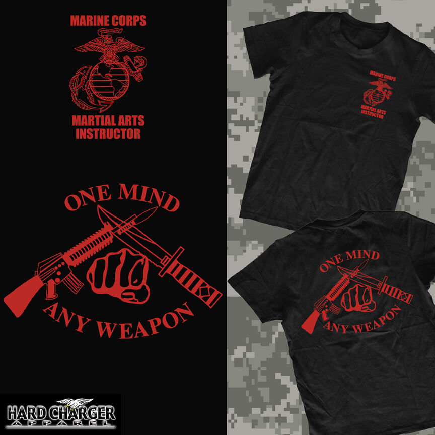 2020 Fashion Marine Corps Martial Arts Instructor Mai Mcmap <font><b>Usmc</b></font> Outstanding New <font><b>T</b></font>- <font><b>Shirt</b></font> Double Side Tees image