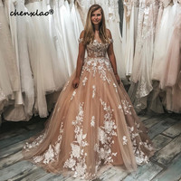 2020 New Listing Champagne Evening Dresses Long Ball Gown Off The Shoulder Court Train Long Evening Dress Formal Gowns vestidos