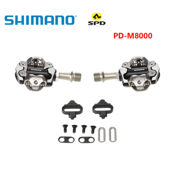 DEORE XT PD-M8000 pedales SPD autoblocantes, componentes de MTB usando para piezas de Carreras de bicicleta de montaña de bicicleta, incluye tacos