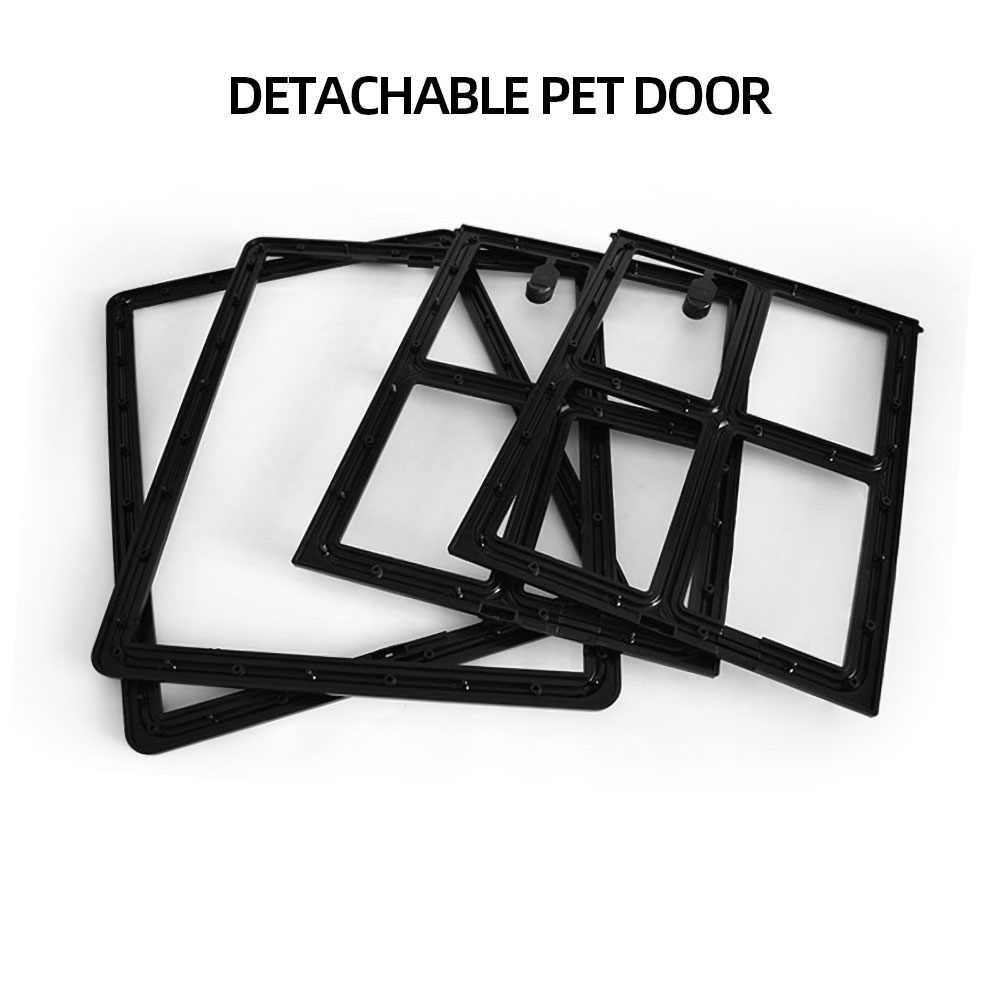 뜨거운 잠글 수있는 플라스틱 M/L 애완 동물 강아지 고양이 키티 문 화면 창 보안 플랩 게이츠 애완 동물 터널 개 울타리 액세스 도어 홈