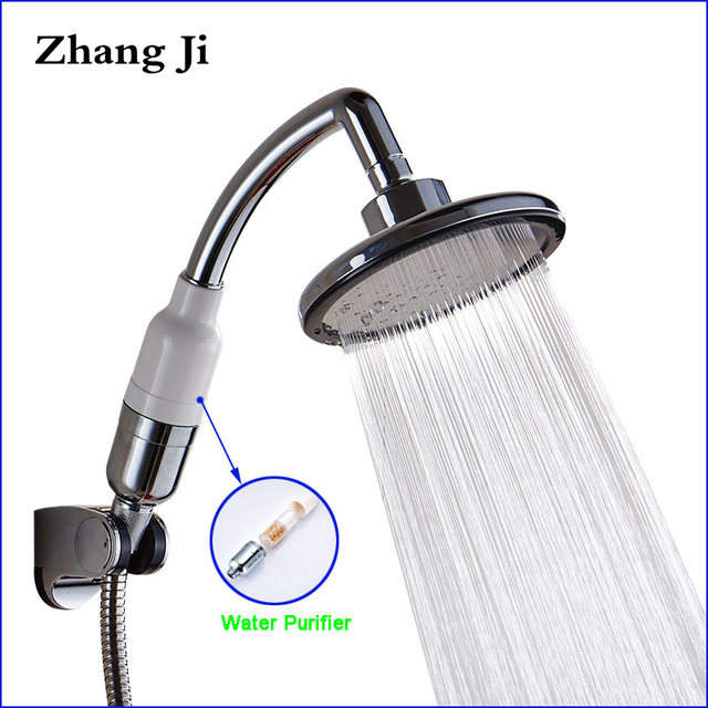 Многофункциональная ручная насадка для душа Zhang Ji, 145 мм, большая панель, Распылительная насадка высокого давления, водопад, фильтр для очистки, насадка для душа