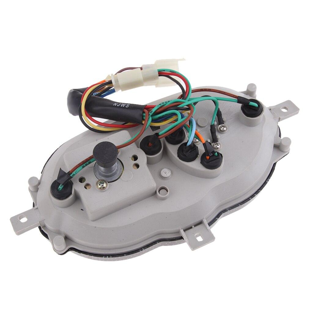 Magideal Motor 7 Pins Plug Snelheidsmeter Vergadering Voor Yamati RX8 Keeway
