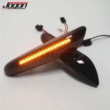 Para bmw e46 e36 e60 e61 e90 e92 e93 x1 e84 x3 led dinâmico transformar a luz do sinal lado fender marcador sequencial blinker lâmpada