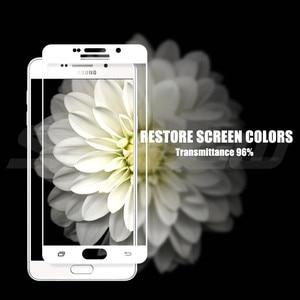 Image 5 - 9D szkło ochronne na Samsung Galaxy A3 A5 A7 Samsung J3 J5 J7 2016 2017 S7 ekran ze szkła hartowanego szkło ochronne Film przypadku