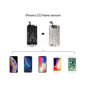 Image 3 - OM H3 uniwersalny rama Lcd usuń maszyna do do ekranu Lcd telefonu temperatura podgrzewania ramki sterowania oddzielne