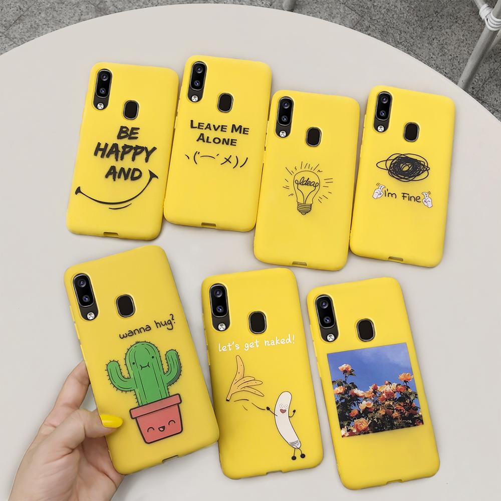 Lovely Candy <font><b>Silicone</b></font> <font><b>Case</b></font> For <font><b>Samsung</b></font> Galaxy A10 A20 A20e A30 A40 <font><b>A50</b></font> A70 <font><b>2019</b></font> A10s A20s A30s A50s Soft <font><b>Case</b></font> Cover Cartoon image