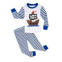 Pajamas for Children Kids Boys Christmas Sleepwear Set Toddler Xmas Elf Nightwear Child Santa Claus Home Clothes Pjs