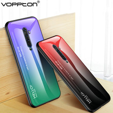 Gradient Tempered Glass Case for OPPO Re