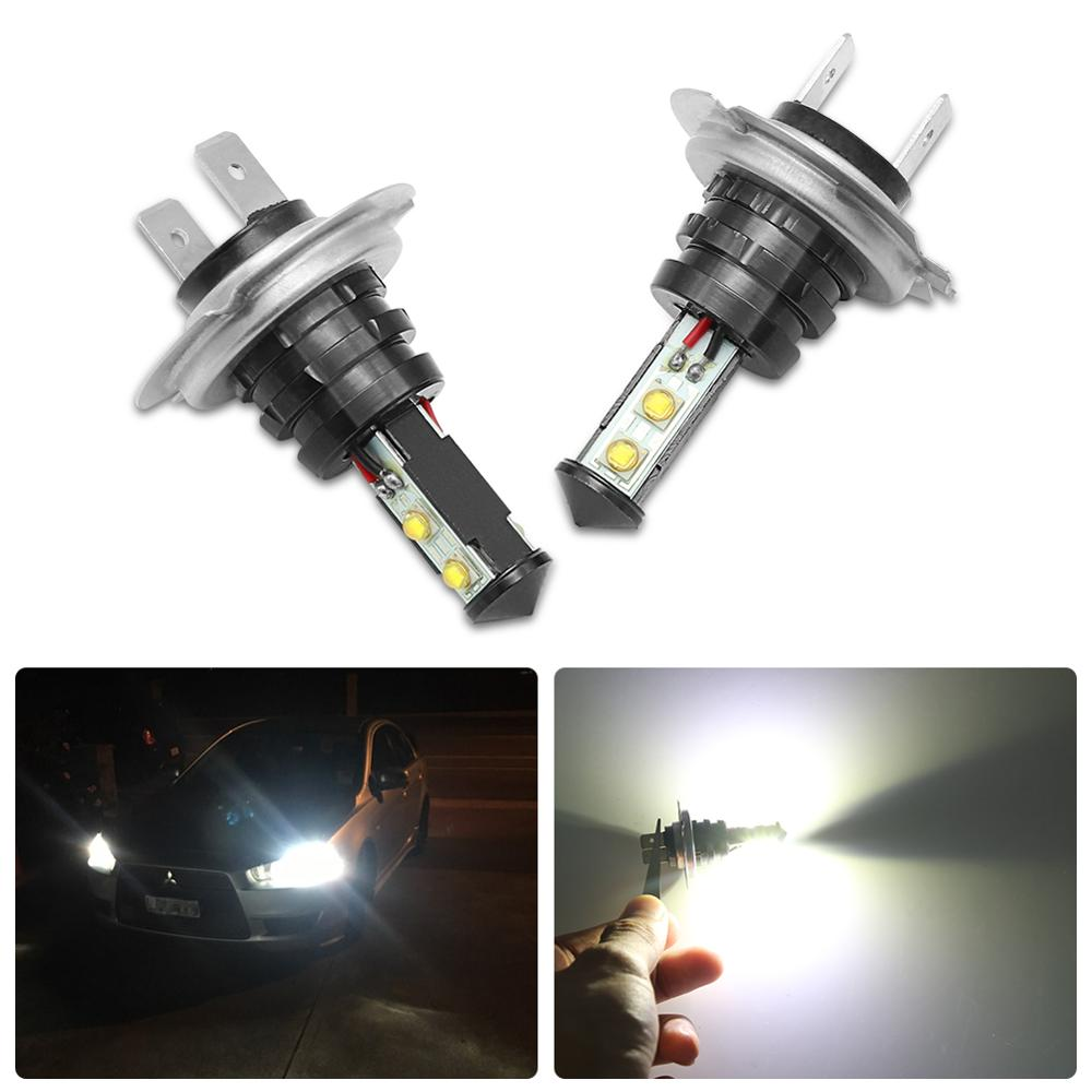 2 Pcs Car Bright Fog <font><b>Light</b></font> Bulb H7 H4 H8 HB3 <font><b>Led</b></font> Head Lamp For <font><b>VW</b></font> Polo <font><b>Passat</b></font> <font><b>b5</b></font> b6 b7 b8 Golf 4 5 6 7 T4 T5 Touran image