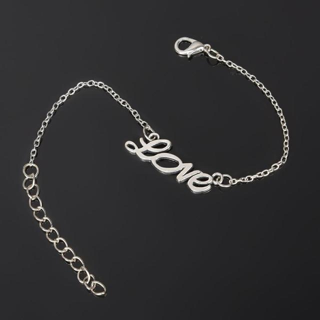 Silver Handcuffs Anklet...