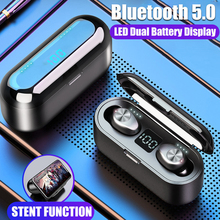 3 In 1 TWS Mini Wireless Bluetooth 5.0 Earphone Sports HIFI Stereo Wireless Headset 9D Surround Sound Speaker with LED Display new t11 tws bluetooth wireless earphone 8d surround stereo earbuds wireless headset w led display