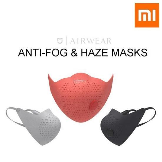 Xiaomi AirWear Face Mask Anti-Haze And Anti-Fog Mask  Mijia AirPoP Face Mask