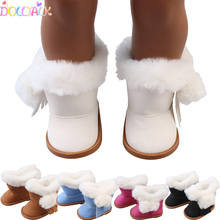 Plush-Snow-Boots American-Doll-Accessories Our-Generation-Dolls 18-Inches Shoes Baby