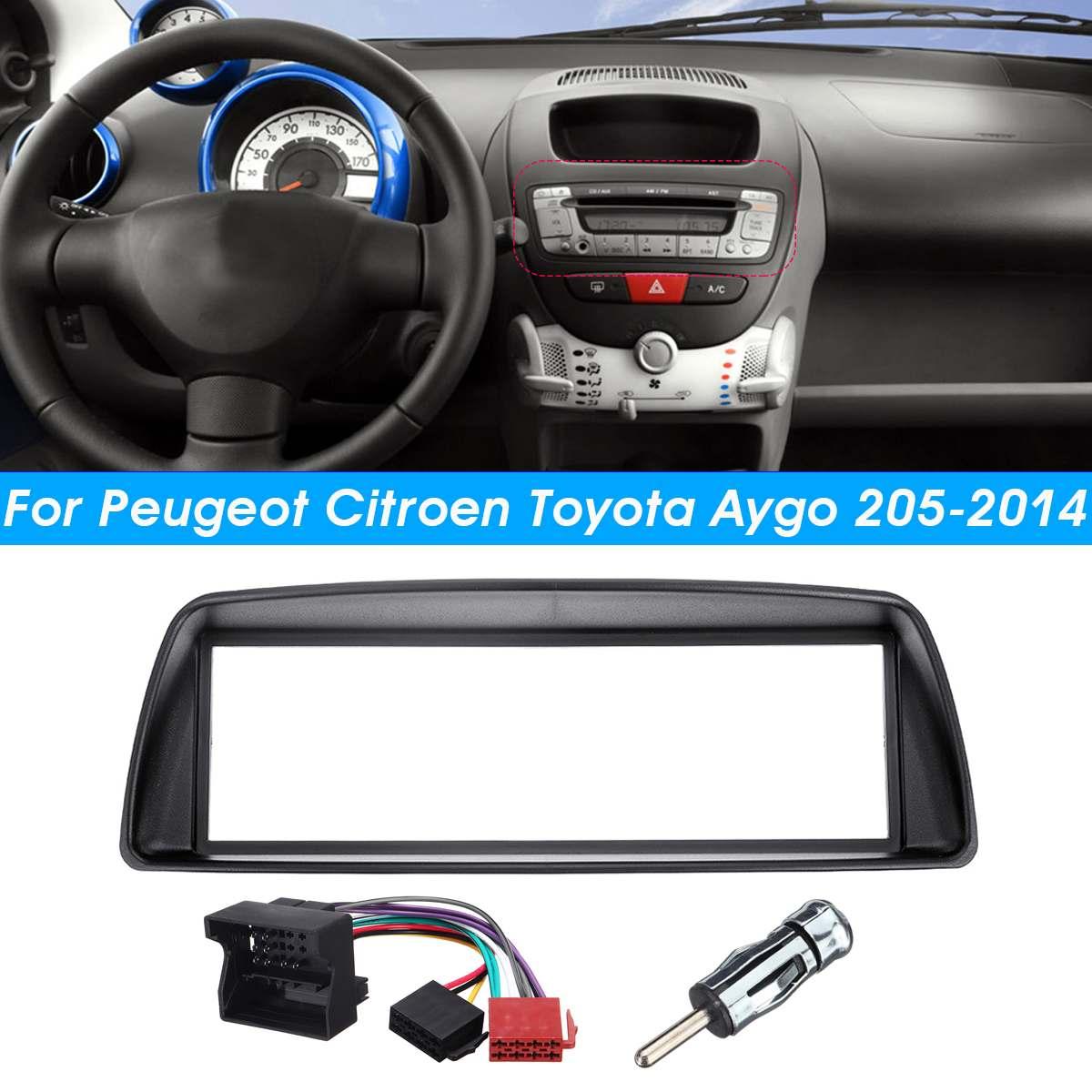 Toyota Aygo Car Panel Plate Fascia Facia Surround Adaptor Car Stereo Fitting Kit