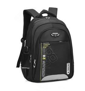 Image 2 - Новые детские школьные ранцы для девочек и мальчиков, школьный рюкзак, черные школьные ранцы, рюкзаки для начальной школы, детские большие школьные рюкзаки