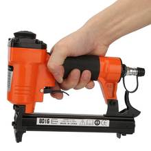 Nail-Gun Furniture-Stapler Nail-Air-Pneumatic-Nailer Straight 8016 21GA Japanese-Connector