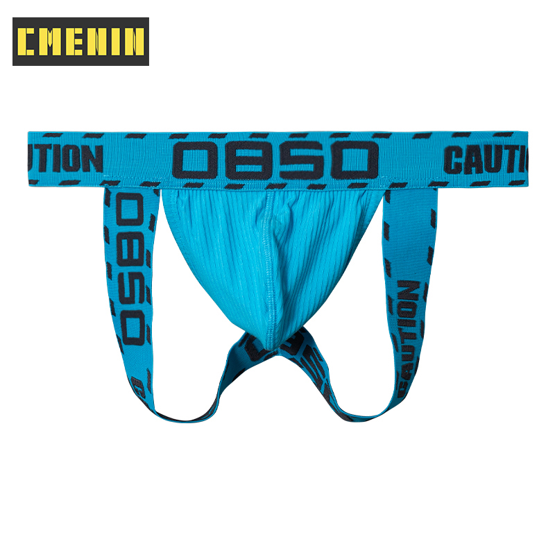 High Quality Cotton Underpants Gay Men Sexy Man's Underwear Thong Men Jockstrap Low waist Mens Thongs And G strings Sexi BS3102