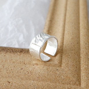 Image 2 - SSTEELไม่สม่ำเสมอROCK Textureแหวนผู้หญิงแหวนเงิน 925 Anillo Plata 925 Mujer Parure Bijoux Femme 2019 Bague