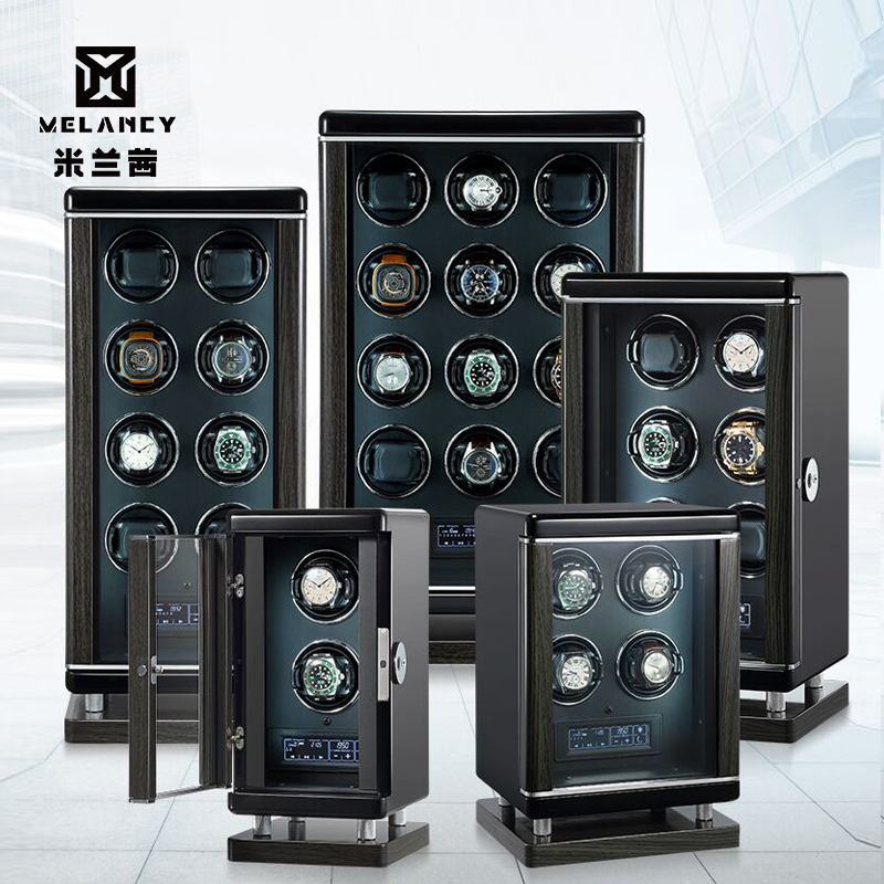 High-End Wood Watch Winders Fashion Automantic Self Winding Mechanical Watch Winder Watch Storage Display Gift Boxes