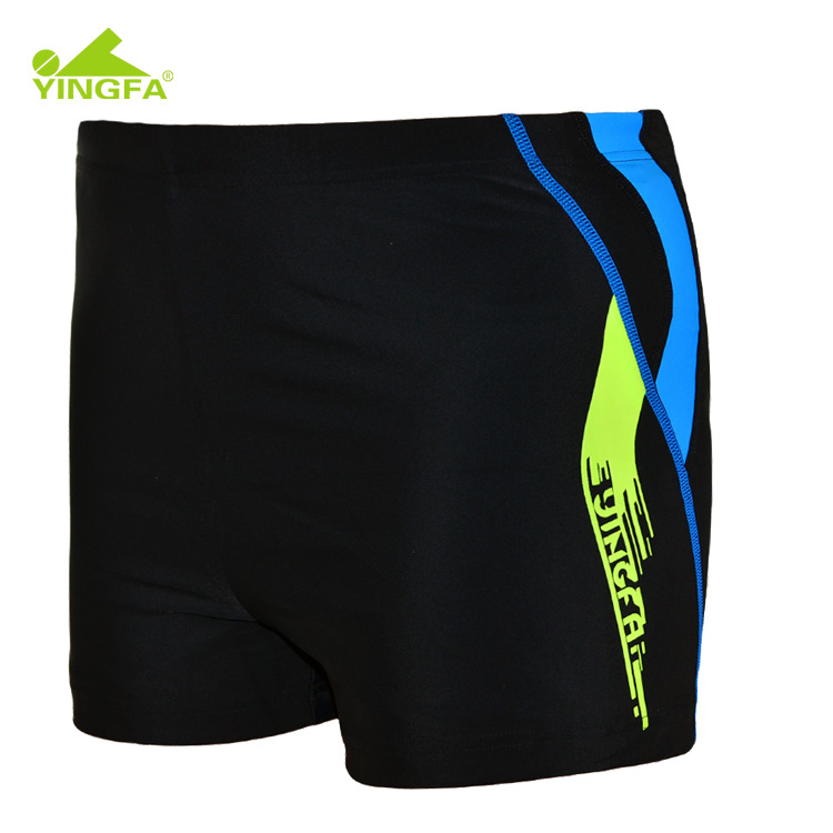CHILDREN'S Swimming Trunks Boxer Boy Students Teenager Child Middle And Large Swimming Suit Kids BOY'S Quick-Dry Swimming Trunks