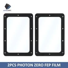 ANYCUBIC película Photon Zero FEP para impresora 3D, piezas de impresora 3d de 141x97,5mm, 2 uds.