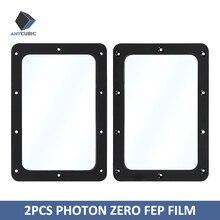 Anycubique imprimante 3D 2 pièces Photon zéro FEP Film 141*97.5mm imprimante 3d pièces pour Photon zéro impresora 3d
