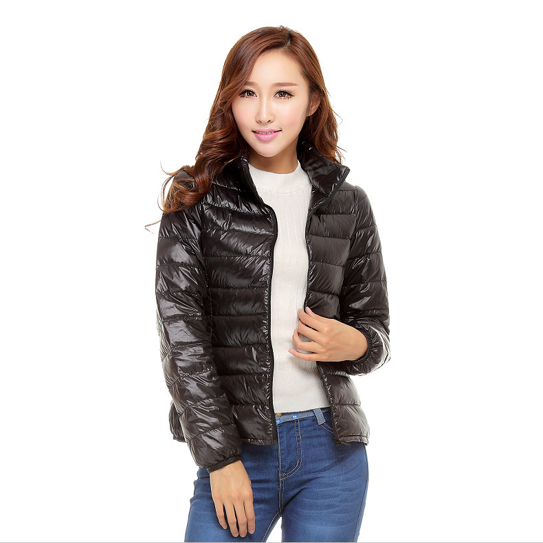 90% White Duck Ultra Thin Down Jacket Women Large Size Women's Clothing Womens Down Jackets Casacas Para Mujer KJ341
