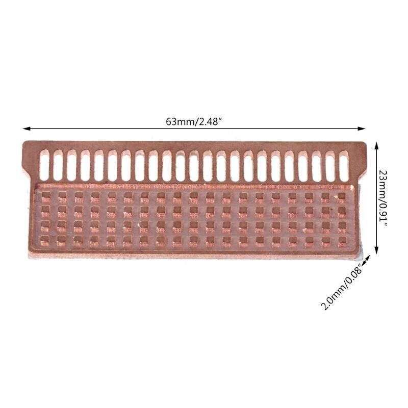 Notebook Memory Heat Sink Copper Heatsink Laptop RAM for DDR1 DDR2 DDR3 DDR4