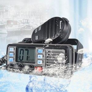 Image 3 - 25 واط عالية الطاقة VHF البحرية الفرقة اسلكية تخاطب موبايل قارب راديو مقاوم للماء 2 طريقة راديو جهاز الإرسال والاستقبال المحمول RS 507M