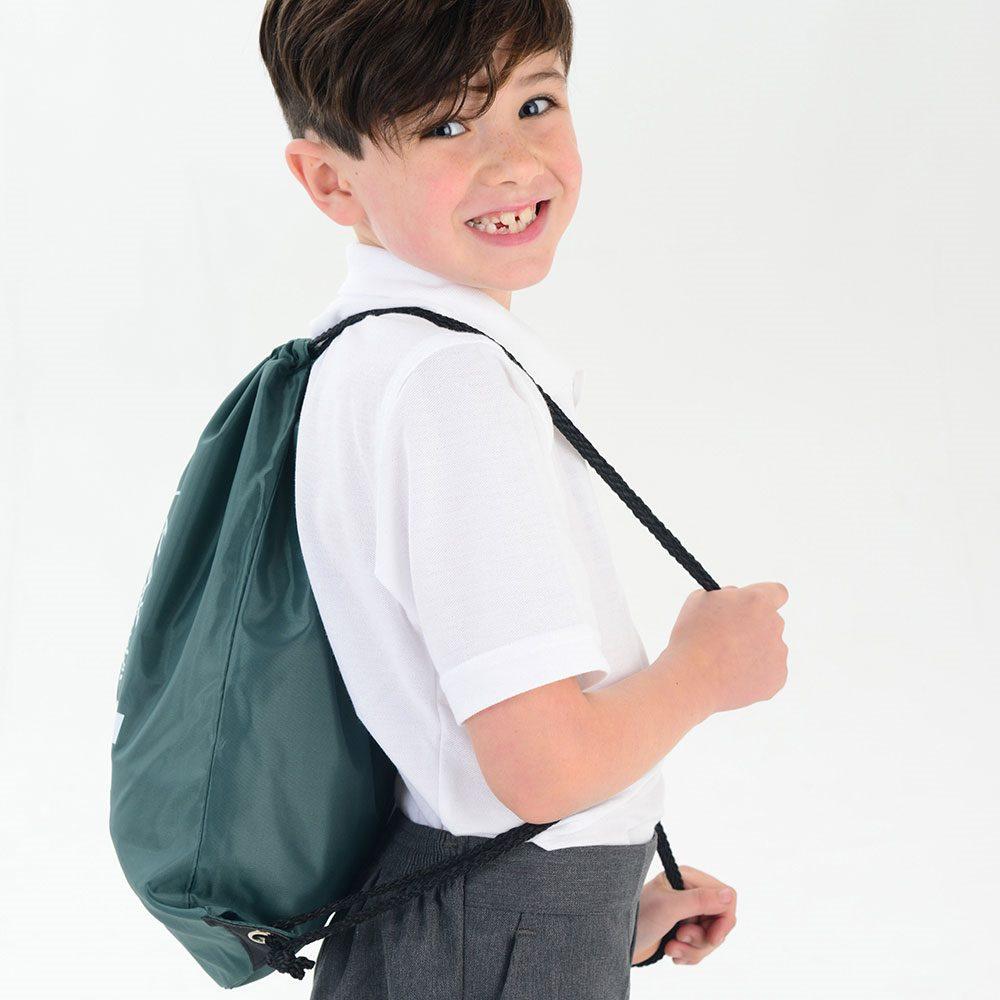 (2000pcs/lot)  Size 25x30cm Custom Printed Gift Bag Drawstring Backpack Kids